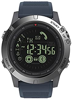 smart watch - New Zeblaze VIBE 3 Flagship Rugged Smartwatch 33-month Standby Time 24h All-Weather Monitoring Smart Watch For IOS And Android (Slate)