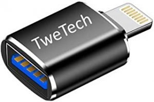 TweTech USB A (Female) to Lightning 8Pin (Male) Adapter