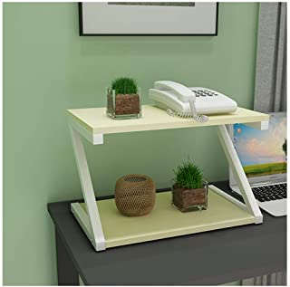 Fax Machine Stand Creative Printer Stand Desk Double-layer Storage Rack Modern Simple Multi-layer Rack Multi-function Copy Rack Desktop Organizer Desk Shelf (Color : C)
