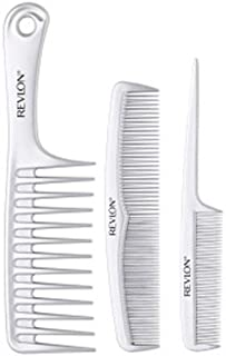 Revlon P and S Wet Hair Ionic Combs - 3 Piece