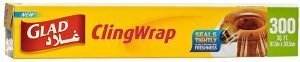 Glad ClingWrap Plastic Wrap - 300 sq ft Roll