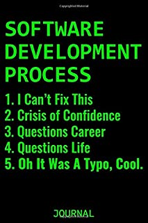 Software Development Process: Coding Notebook for Apps and Software Developers