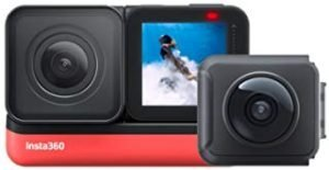 Insta360 One R Twin Edition Action Camera (360 + 4K) - Black