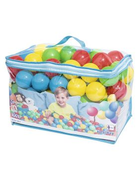 Bestway Splash & Play 100 Bouncing Balls 6.5cm