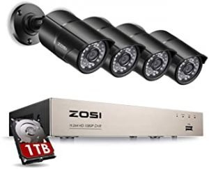 ZOSI 1080p HD-TVI Security Camera System