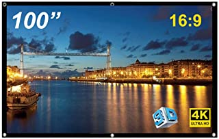 100 inch Foldable Projection Screen