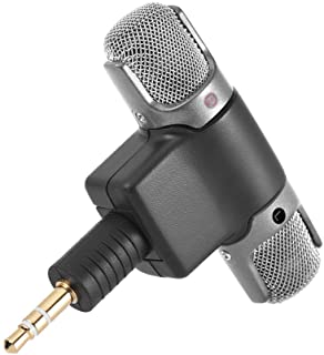 External Stereo Mic Microphone with 3.5mm to Mini USB Micro Adapter Cable for GoPro Hero 3 3+ 4 for AEE Sports Action Camera