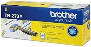 Brother Genuine TN-273Y Standard Yield Yellow Ink Printer Toner Cartridge