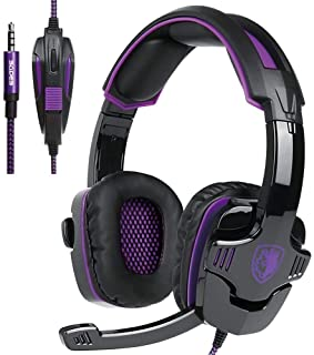 SADES SA930 3.5mm Stereo Gaming Over Ear Headphones