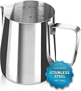 Santo Espresso Steaming Pitcher 12 oz