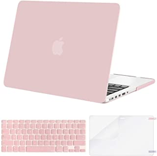 MOSISO Plastic Hard Case with Keyboard Cover with Screen Protector Only for MacBook Pro Retina 13 Inch No CD-Rom (A1502/A1425