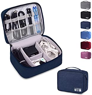 Rubik Electronics Organizer Waterproof Carrying Bag - Travel Gadgets Universal Accessories Storage Case for Charger