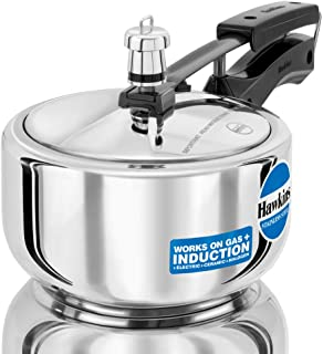 Hawkins Stainless Steel Induction Compatible Base Pressure Cooker