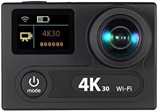 """Wifi Sports Action Camera 2"""" Dual LCD Screen 360 VR Play 4K 30fps 1080P 60fps 12MP Ultra HD 170°Wide-angle Waterproof 30M Cam DVR FPV"""