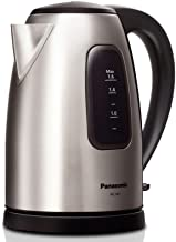 Panasonic NC-SK1 Electric Kettle Steel Black