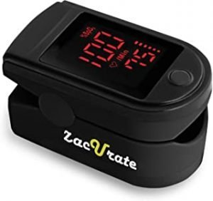 Zacurate Portable and Reliable Fingertip Pulse Oximeter