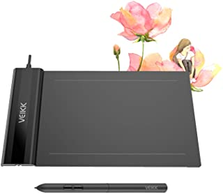 OSU! Drawing Tablet VEIKK S640 V2 Graphic Drawing Tablet Ultra-Thin 6x4 Inch Pen Tablet with 8192 Levels Battery-Free Passive Pen