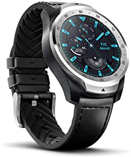TicWatch Pro 2020 Smartwatch Dual Display with Long Battery Life 1GB RAM Memory Waterproof NFC Payments Available Smart Sleep Tracking 24h Heart Rate Monitor (Silver)
