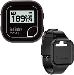 GolfBuddy Clip on Voice 2 Golf Navigation GPS for Hat