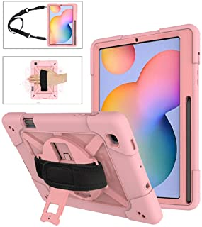 A-BEAUTY Case for Samsung Galaxy Tab S6 Lite 10.4 Inch 2020 (Model: SM-P610/P615) [Heavy Duty] [Shockproof] [Kickstand]