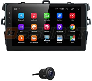 2G RAM + 64G ROM Android 10 Car Radio Stereo Fit for 2007 2008 2009 2010 2011 Toyota Corolla with 9 Inch Video Player Bluetooth WiFi Steering Wheel Control