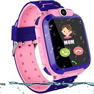 Waterproof Smart Watch Children Digital Wristwatch Baby Watch Phone For IOS Android Kids Toy Gift with 1.44 inch Touch Screen