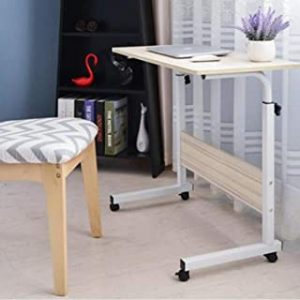 MEETION Bedside laptop/tablet bedside table wood design 60x40 cm