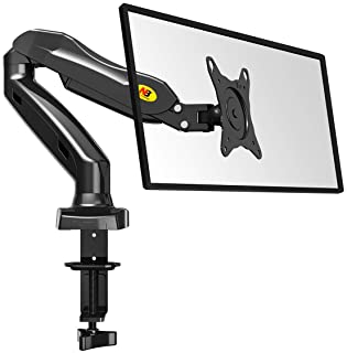 """NB North Bayou Monitor Mount Full Motion Swivel Monitor Arm with Gas Spring(17-30"""""""