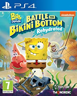 Spongebob Squarepants Battle for Bikini Bottom Rehydrated (PS4)