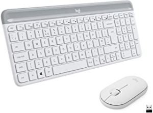 Logitech MK470 Slim Wireless Keyboard & Mouse Combo for Windows