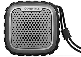PGT Proxima Bluetooth Bike Speaker Big Battery Hang On Bathroom Car Vehicle Motorbike Backpack UNBreak Free Hands Call Wireless Portable Waterproof Travel Long Continuous Play