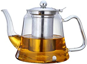 1000ml Glass Teapot with Removable Infuser