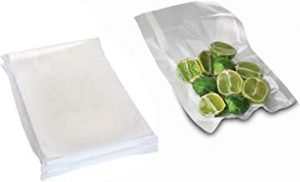 100 Pcs Vacuum Sealer Bags Durable Universal Food Vacuum Storage Bags