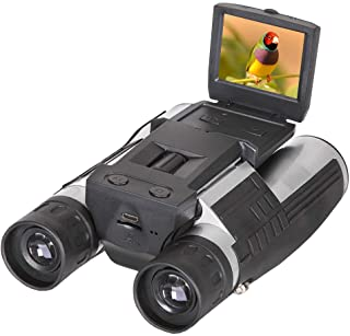 "Digital Binoculars Camera Telescope with 2"" LCD Display 12x32 5MP Photo & 1080P Video Recorder Tripod Compatible Free 8GB TF Card Camera Binoculars 500 Meters Target for Bird Sport Concert Watching"