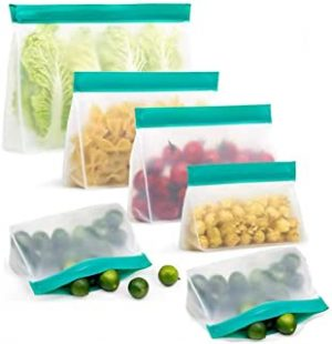 Chielor Reusable Food Storage Bags