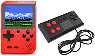 Retro Handheld Game Console Game Machine Wired Gamepad 400 Classic Games 3.0 inch Screen Supporting AV Out Birthday Gift Present for Kids