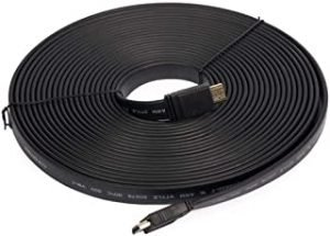 Flat Cable HDMI to HDMI 1080P 10 Meter