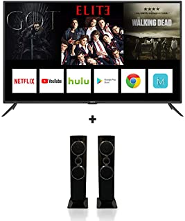 55 Inch 4K UHD Smart LED TV With Digital Netflix And Youtube 55UH680V Black