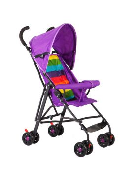 SunBaby Light Weight Buggy with Canopy - Purple