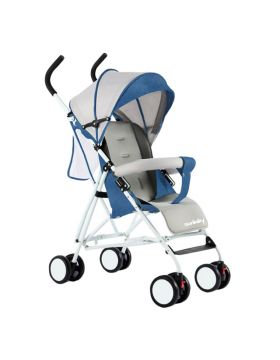 SunBaby Ultra-Light Portable Kids Buggy -Blue & Grey