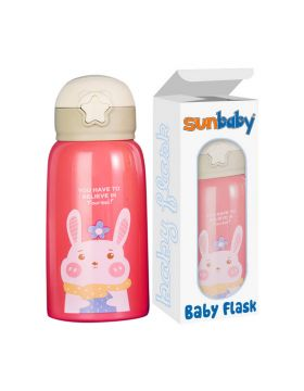 SunBaby Insulated Vacuum Baby Flask Pink
