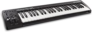 M-Audio Keystation 49 MK3 | Compact Semi Weighted 49 Key MIDI Keyboard Controller with Assignable Controls