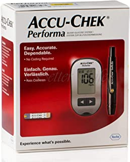Performa Blood Glucose System Meter With Battery/Test Strips