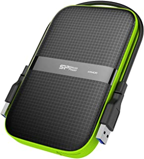 Silicon Power 2 TB External Portable Hard Drive Rugged Armor A60 Shockproof Water-Resistant 2.5-Inch USB 3.0