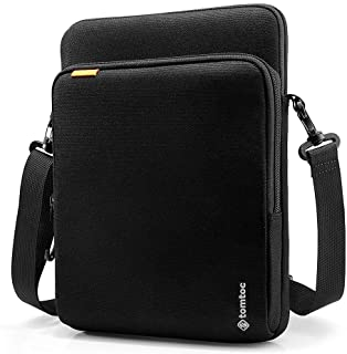 tomtoc Tablet Shoulder Bag for 12.9-inch New iPad Pro 2018-2020 with Apple Pencil Magic Keyboard and Smart Keyboard Folio