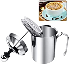 Stainless Steel Hand Pump Milk Frother