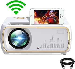 PRYMAX Mini Projector HD 1080P Android Wireless Bluetooth Projector