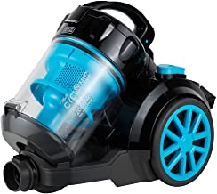 Black+Decker 1800W Bagless Cyclonic Canister Vacuum Cleaner with 6 Stage Filtration