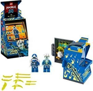 LEGO NINJAGO Jay Avatar - Arcade Pod 71715 Mini Arcade Machine Building Kit