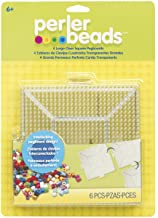 Perler Beads Large Square Pegboards for Kids Crafts